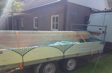 Wij gaan beginnen aan een Douglas overkapping 9 x 5 meter